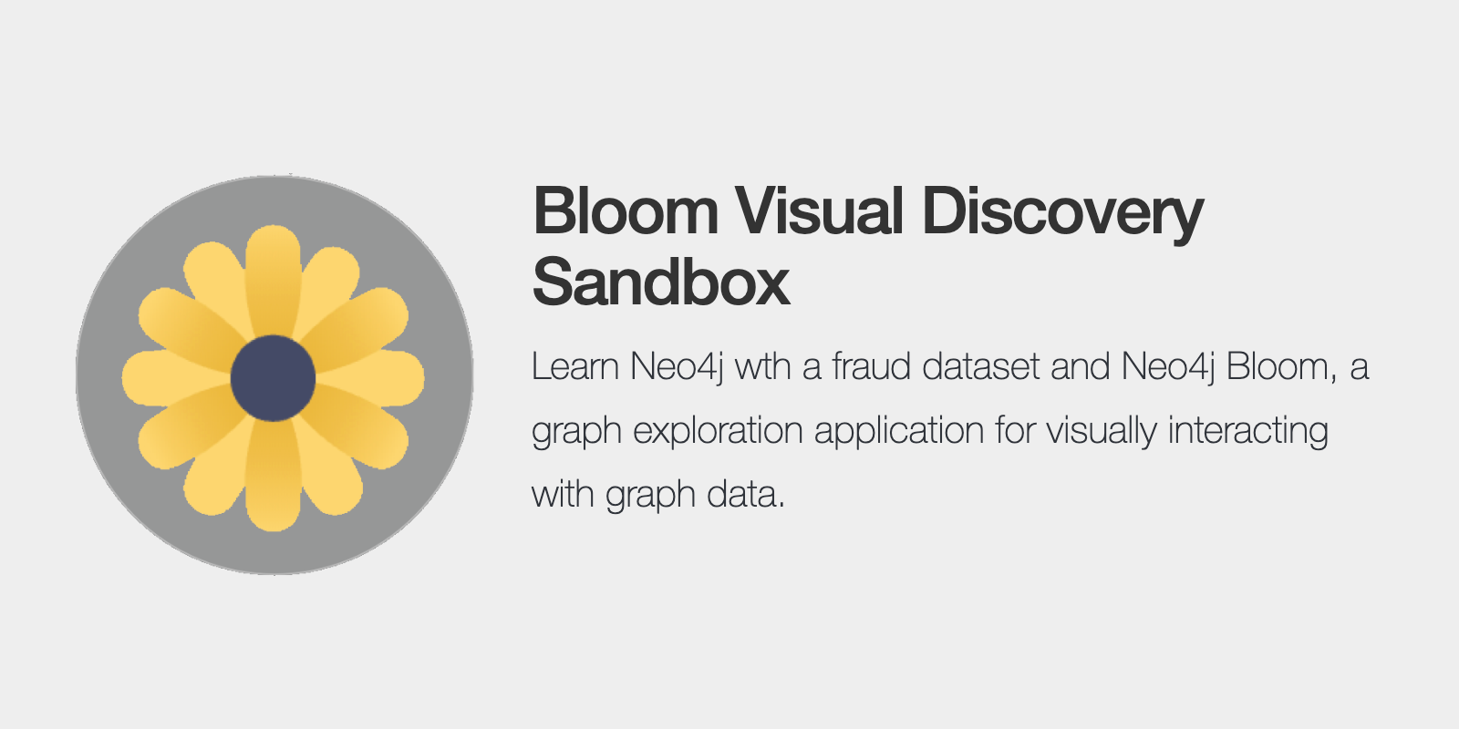 Bloom Visual Discovery Sandbox